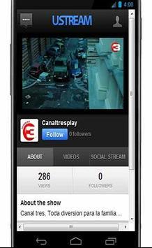 Canal 3 Play apk screenshot