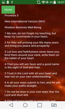 Calendar of Proverbs apk screenshot