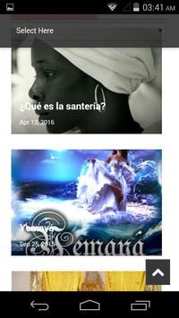 Caracoles de Eleggua Magazine poster
