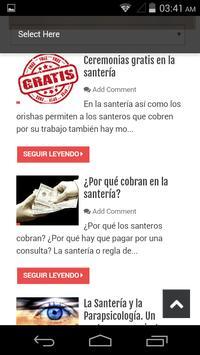 Caracoles de Eleggua Magazine apk screenshot