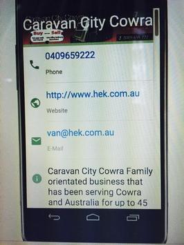 Caravan City Cowra apk screenshot