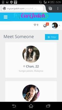 Cari Jodoh Malaysia apk screenshot