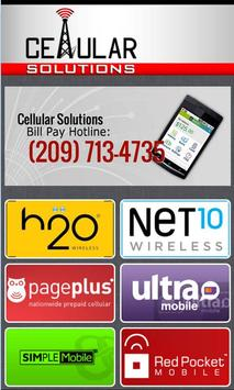 Cellular Solutions Bill Pay poster