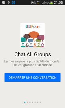 Chat All Groups poster