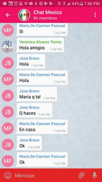 Chat España apk screenshot