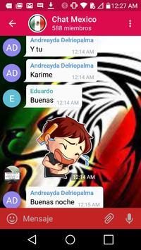 Chat Mexico Gratis apk screenshot