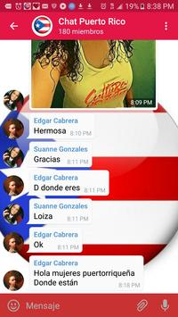 Chat Puerto Rico Gratis poster