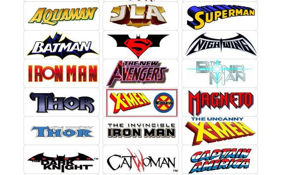Comic Book  Labels Collection poster