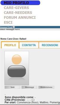 Domestic and caregivers apk screenshot