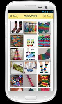 Crochet socks apk screenshot