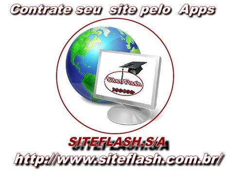 Criar Websiteflash apk screenshot
