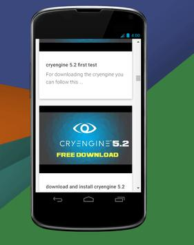 Cryengine Tutorials apk screenshot
