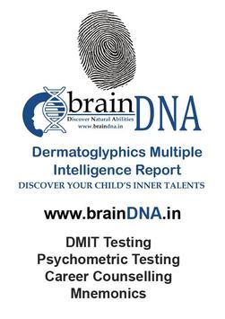 DMIT by Brain DNA poster