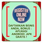 Pendaftaran Bisnis icon
