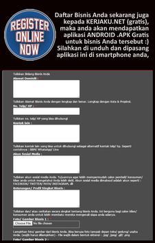 Pendaftaran Bisnis apk screenshot