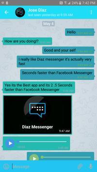 Diaz messenger poster
