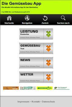 Die Gemüsebau App poster