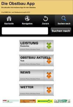 Die Obstbau App poster