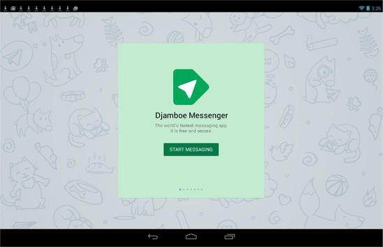 Djamboe Messenger apk screenshot