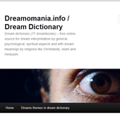 Meaning of Dream in Dictionary icon