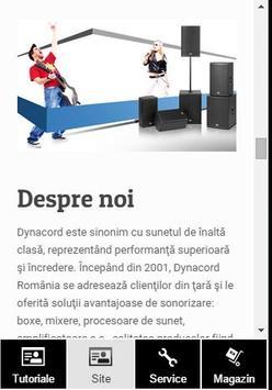 Dynacord Romania poster