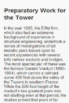 EIFFEL TOWER, 1889 poster