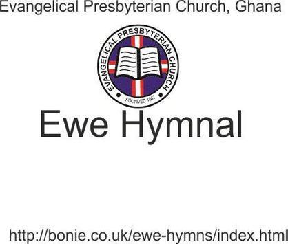 EWE HYMNAL poster