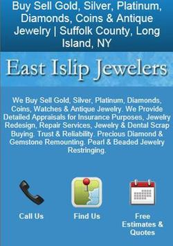 East Islip Jewelers poster
