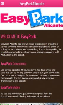 EasyPark Alicante apk screenshot
