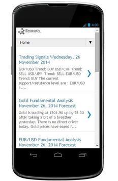 Eracash Forex apk screenshot