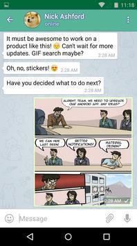 Falaai Messenger apk screenshot