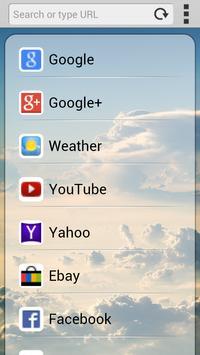 Fast loading Internet Browser poster