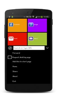 Browser - Feather Lite apk screenshot