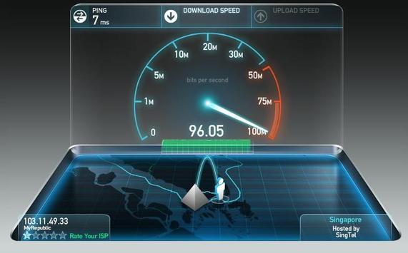 Fibre Broadband Singapore poster