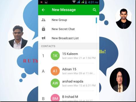 Freechat Messenger apk screenshot