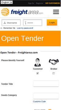FreightArea apk screenshot