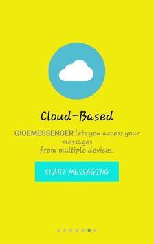 GIOE MESSENGER apk screenshot
