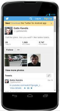 Gatis Kandis Social App apk screenshot