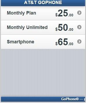At&t Go Phone Recharge apk screenshot