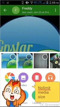 GpstarChat apk screenshot