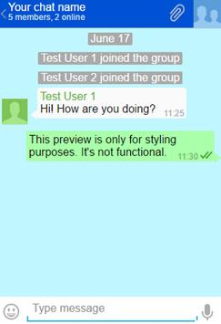 Group Texting poster