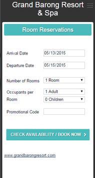 Grand Barong Resort apk screenshot