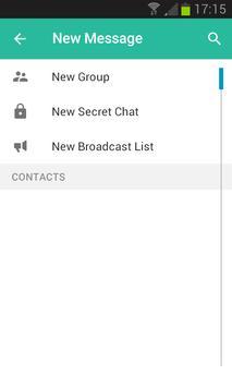 Green'sChat apk screenshot