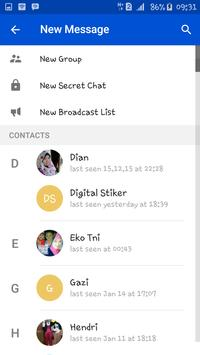 HENS talk apk screenshot