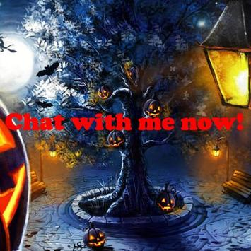 Halloween Chat poster