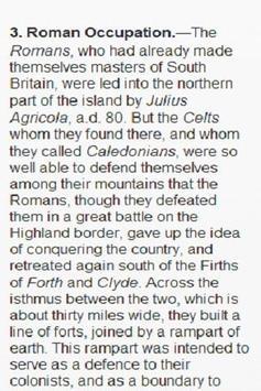 History of Scotland apk screenshot