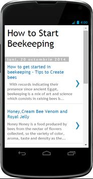 How to Start Beekeeping poster