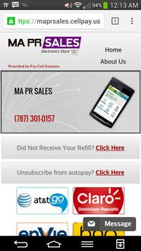 Instant Prepaid Refill poster