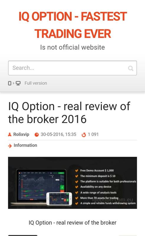 Top rated binary options brokers 2017