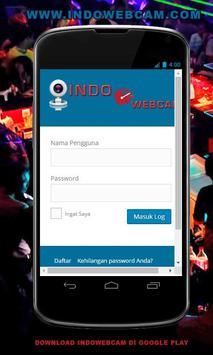IndoWebcam Kenalan Online Free poster